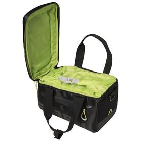 Basil Miles Luggage Pannier Bag 7l, black lime